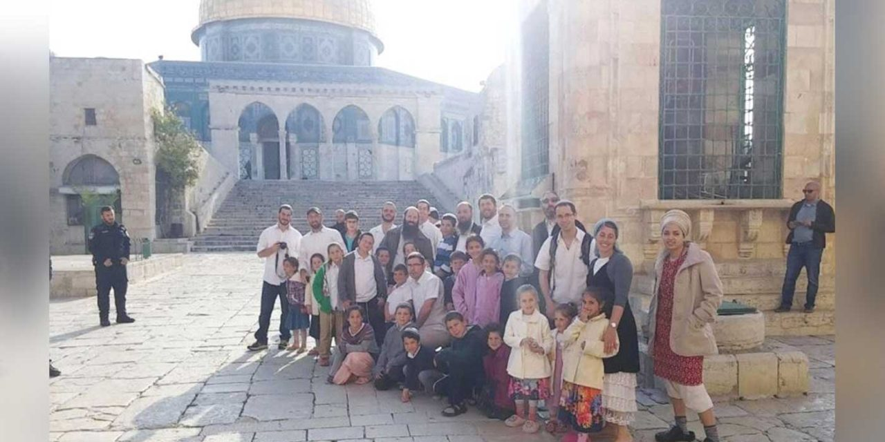 Number of Jewish visitors to Temple Mount doubled during Passover compared to previous year