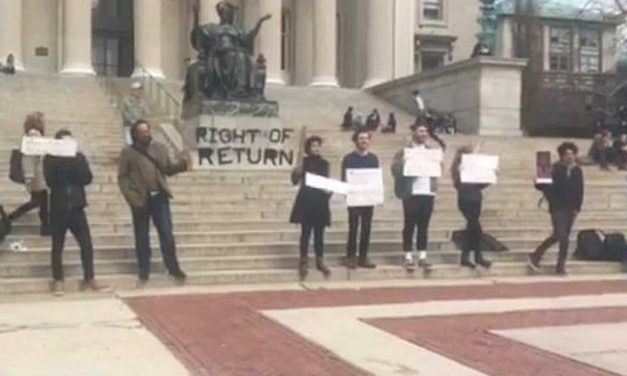 US: Columbia University students hold anti-Israel protest at Holocaust commemoration event