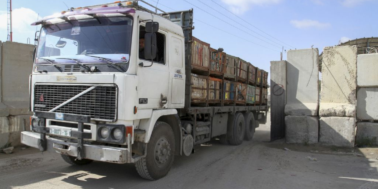 Israel seizes lorry carrying explosives entering Israel from West Bank