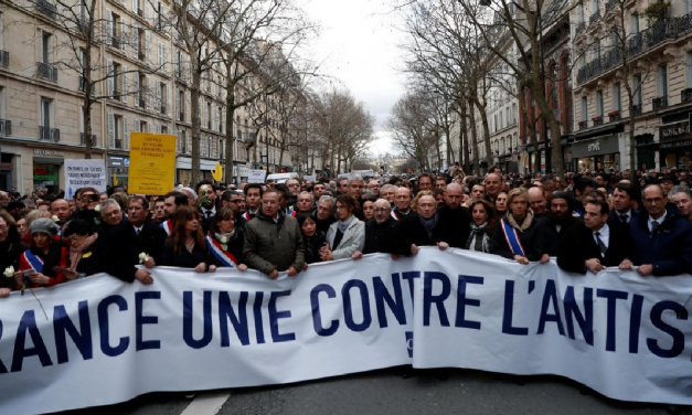 60,000 Jews have left France in the last 10 years amid alarming rise of anti-Semitism