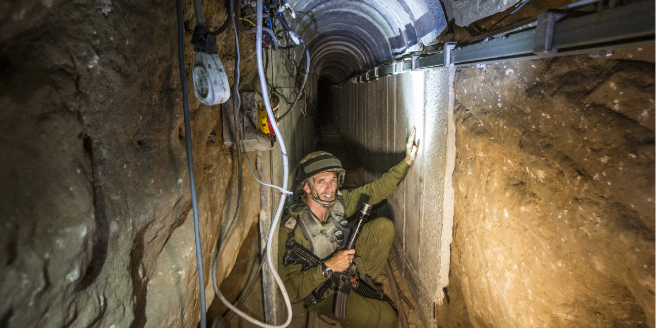 """Longest and deepest"" Hamas tunnel ever is destroyed by IDF"