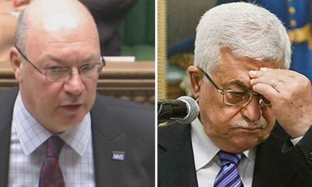 UK government condemns Abbas's anti-Semitic comments