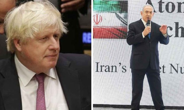Boris says UK still supports Iran nuke deal despite Netanyahu's revelations