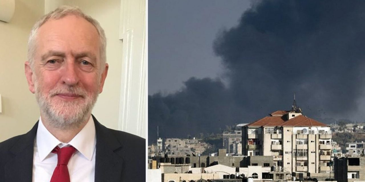 Labour leadership shows DOUBLE-STANDARDS over rocket attacks against Israel