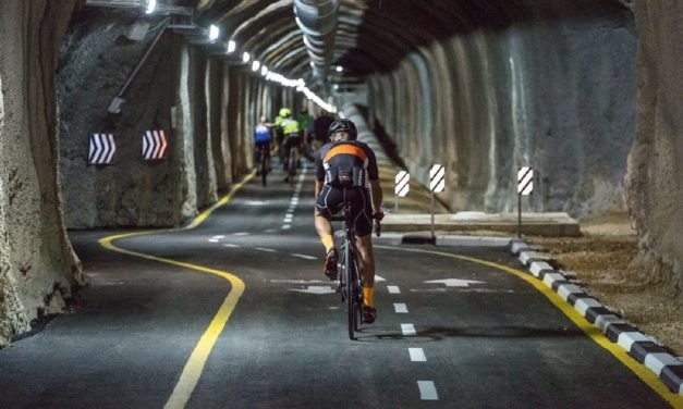 Jerusalem sewage tunnel turned into incredible cycle tunnel