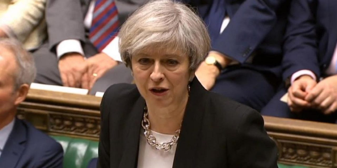 "BREAKING: Theresa May CONDEMNS Iran over missile strikes; says Israel has ""every right"" to defend itself"