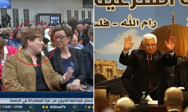 Labour's Emily Thornberry speaks at event where Abbas made anti-Semitic comments; blames Netanyahu for lack of peace