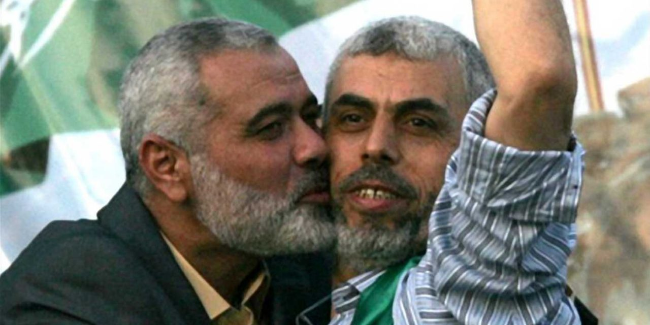 "Hamas leader says Iran funnels ""a lot of money, equipment and expertise"" to Hamas"