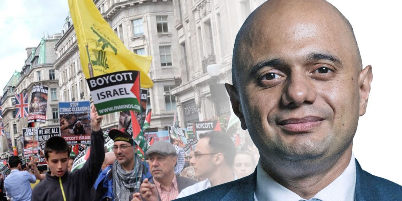 Sajid Javid expected to announce FULL BAN of Hezbollah at Conservative conference