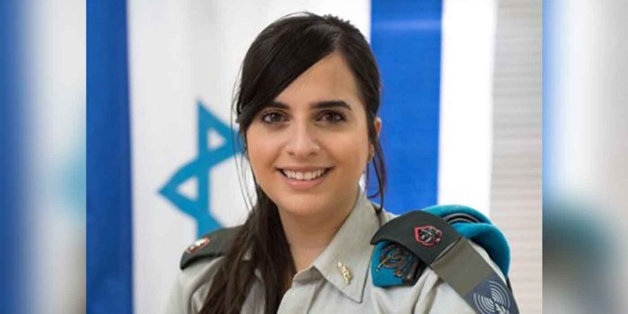 "British-born IDF major awarded for ""outstanding contribution to Israel"""