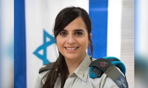 """British-born IDF major awarded for """"outstanding contribution to Israel"""""""