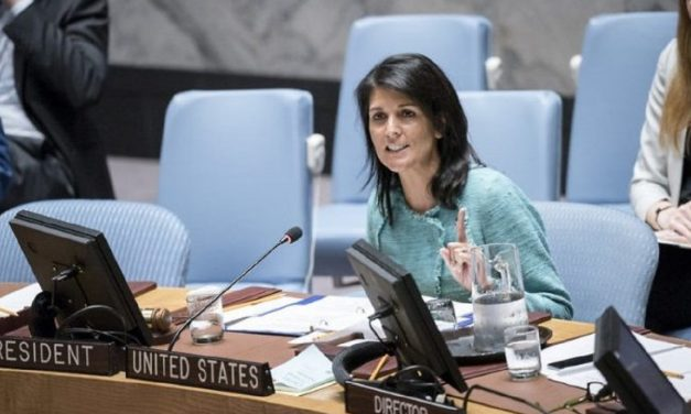 Nikki Haley: UN hits 'new low' with 'anti-Semitic blacklist'