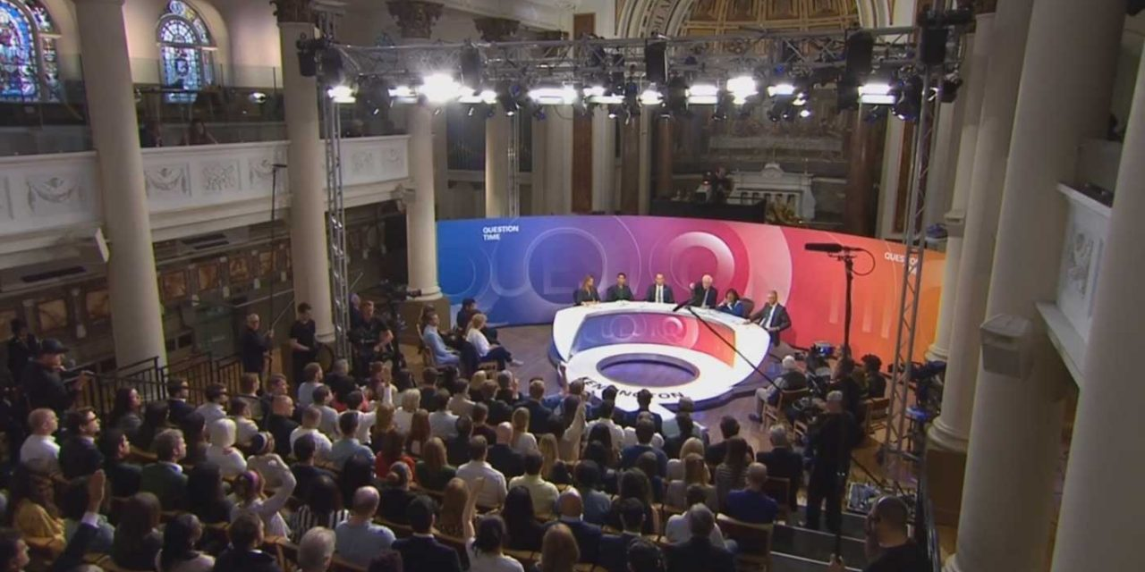 BBC Question Time features heated, biased debate on Israel-Gaza conflict