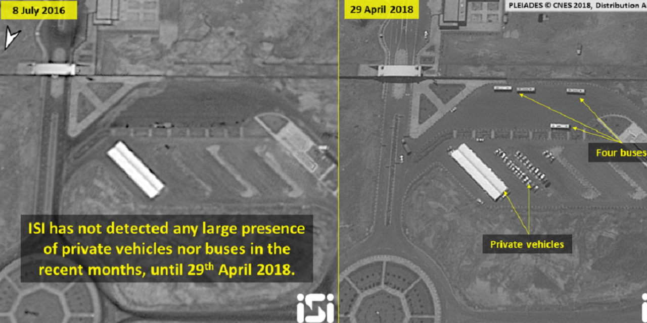"Ahead of nuclear deadline, Satellite images show ""unusual"" activity at Iran nuclear site"