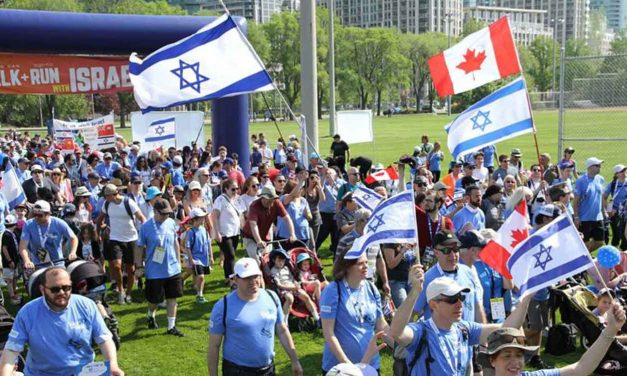 Canada: 20,000 walk for Israel in celebration of 70th anniversary