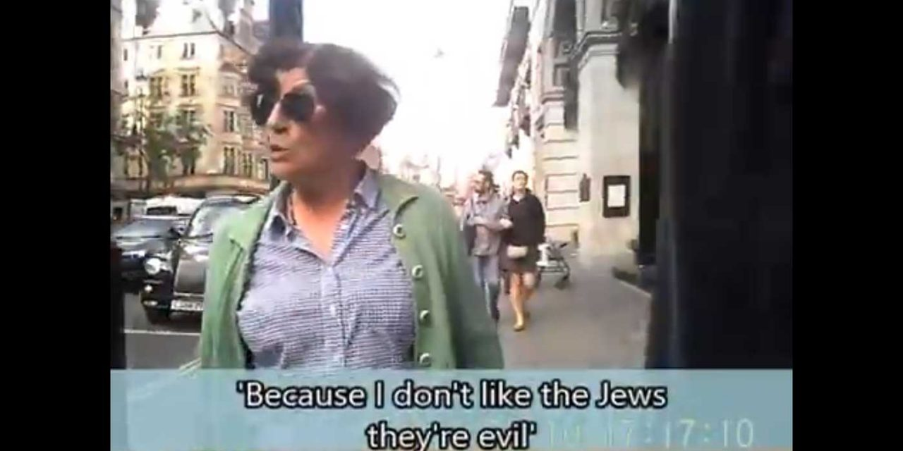 "Anti-Semitic Londoner during Al Quds: ""Jews are evil and should suffer another Holocaust"""