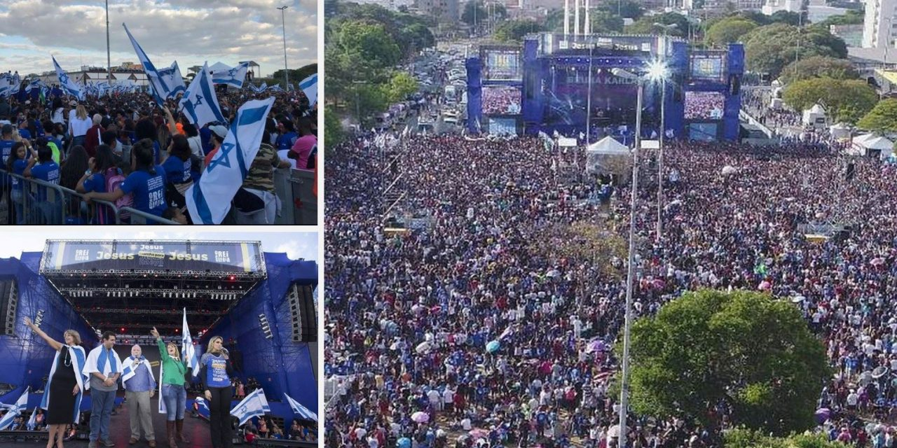 TWO MILLION Brazilian Christians honour ISRAEL at Sao Paulo march