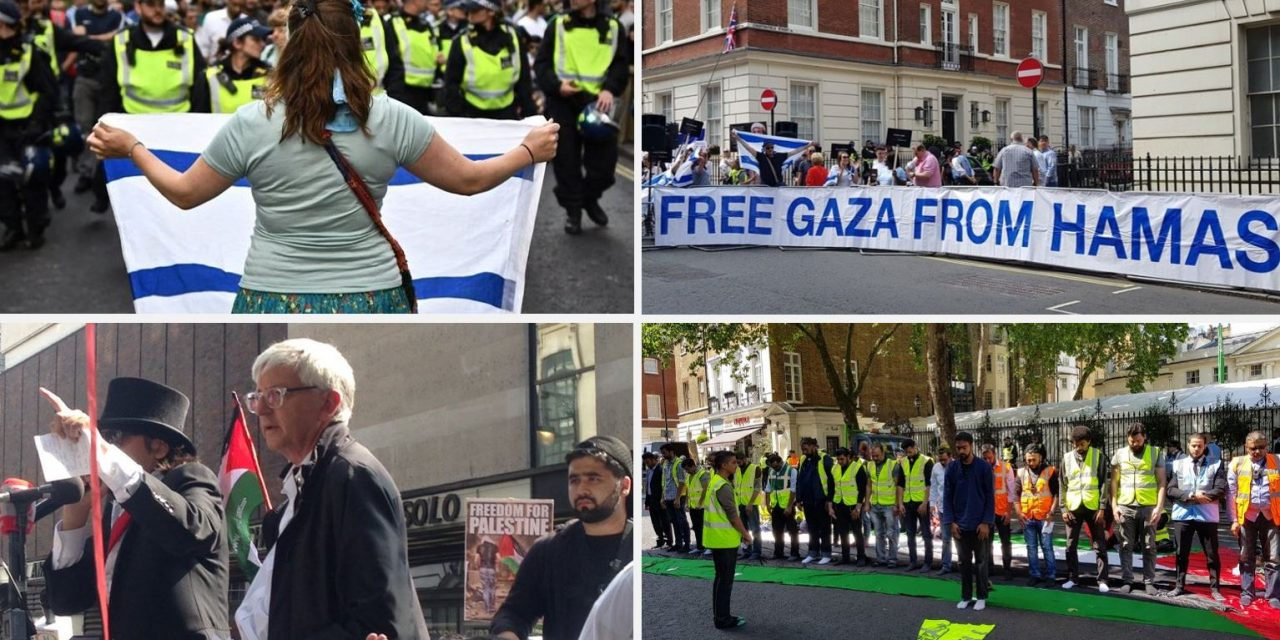 IN PICTURES: London's Al Quds rally – The good, the bad and the ugly