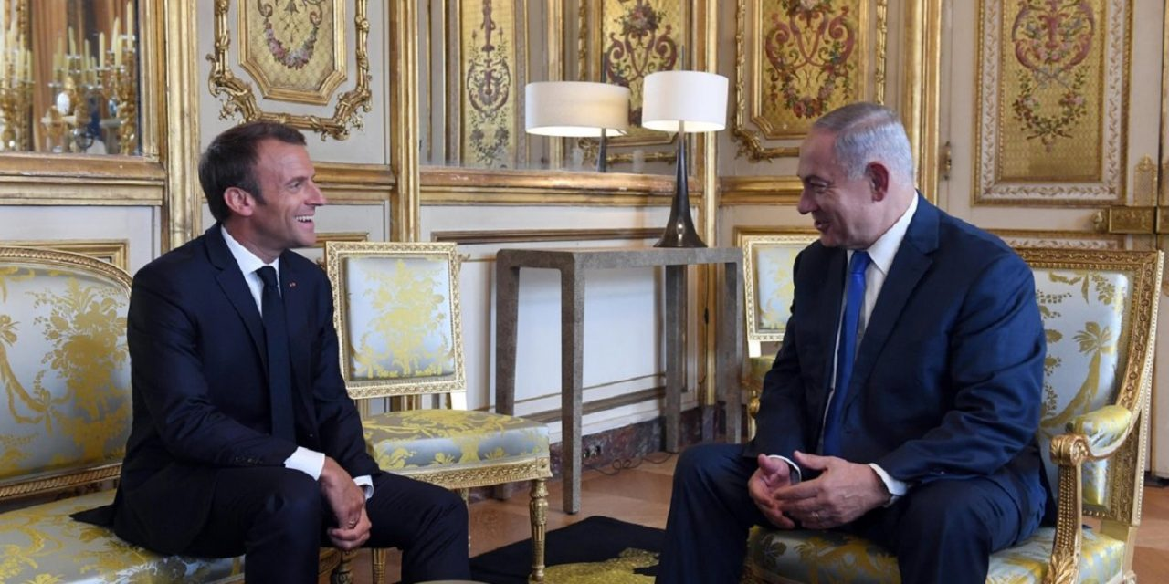 "Macron tells Netanyahu: US embassy move was not cause for ""celebration"""