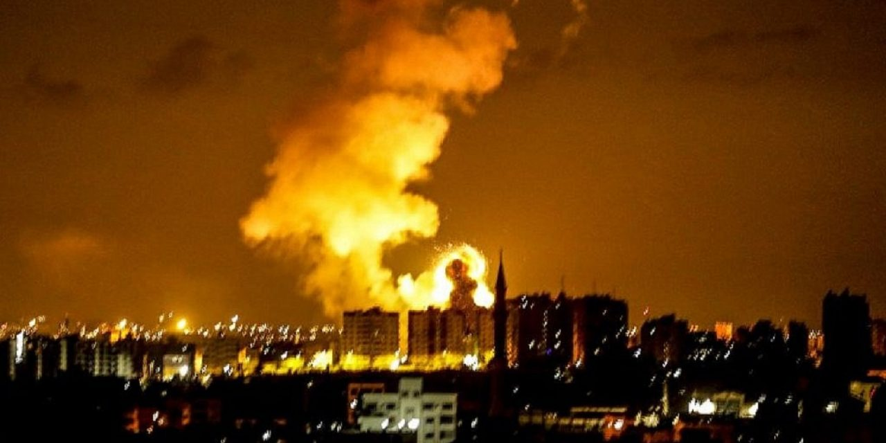 Palestinians fire three rockets into Israel as Israel targets Hamas terror sites