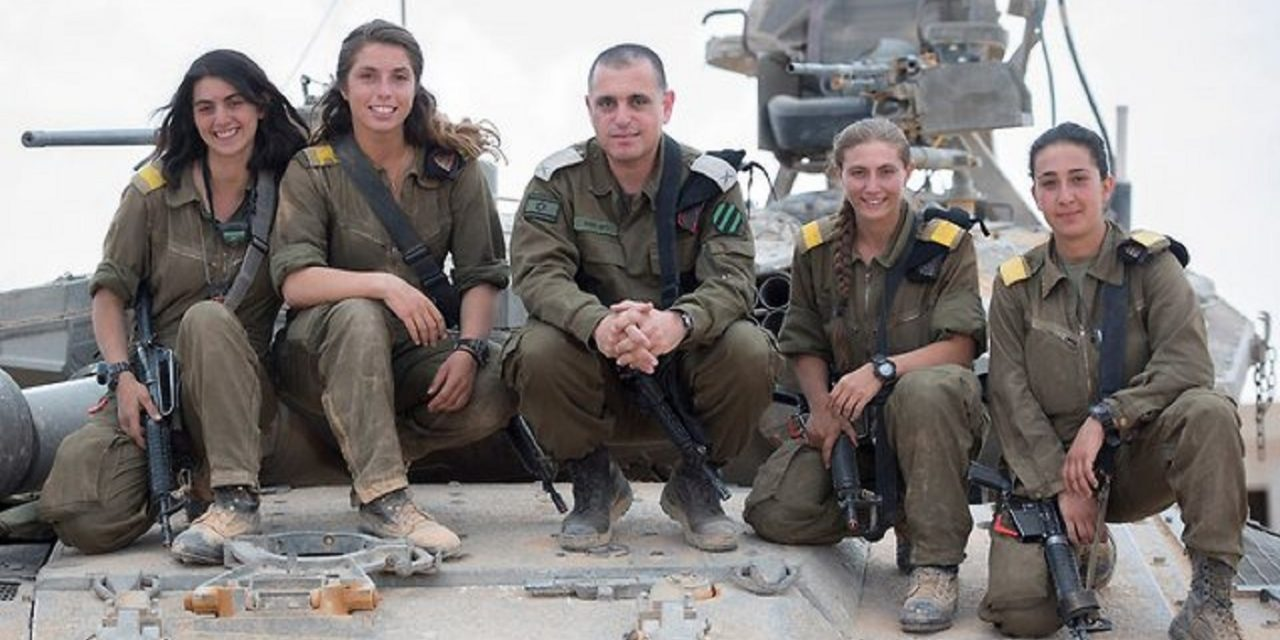 British-born soldier among first ever IDF female tank commanders