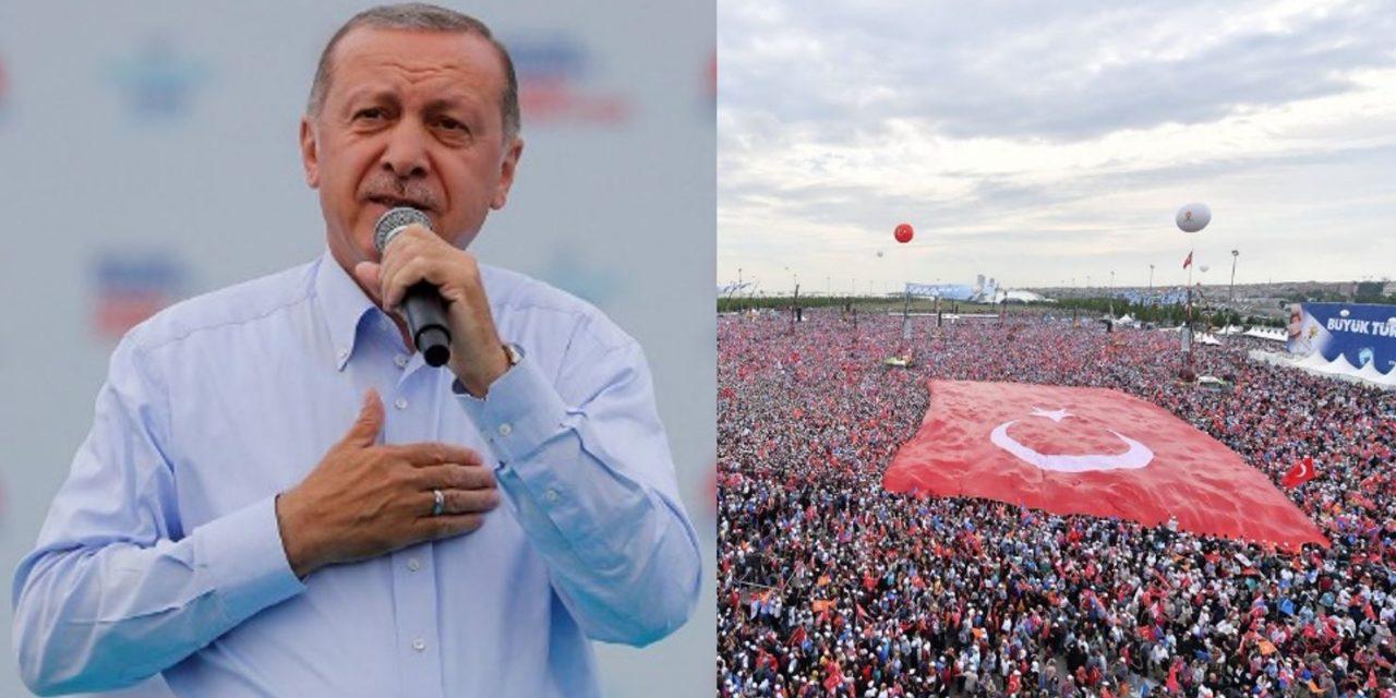 """Turkey's Erdogan warns of """"coming war between the cross and the crescent"""""""