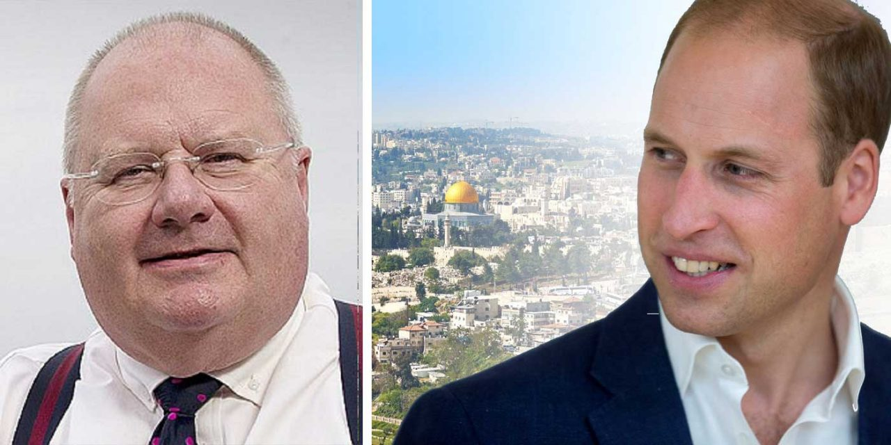 """""""William will see the real Israel we know and love"""" – Lord Eric Pickles"""