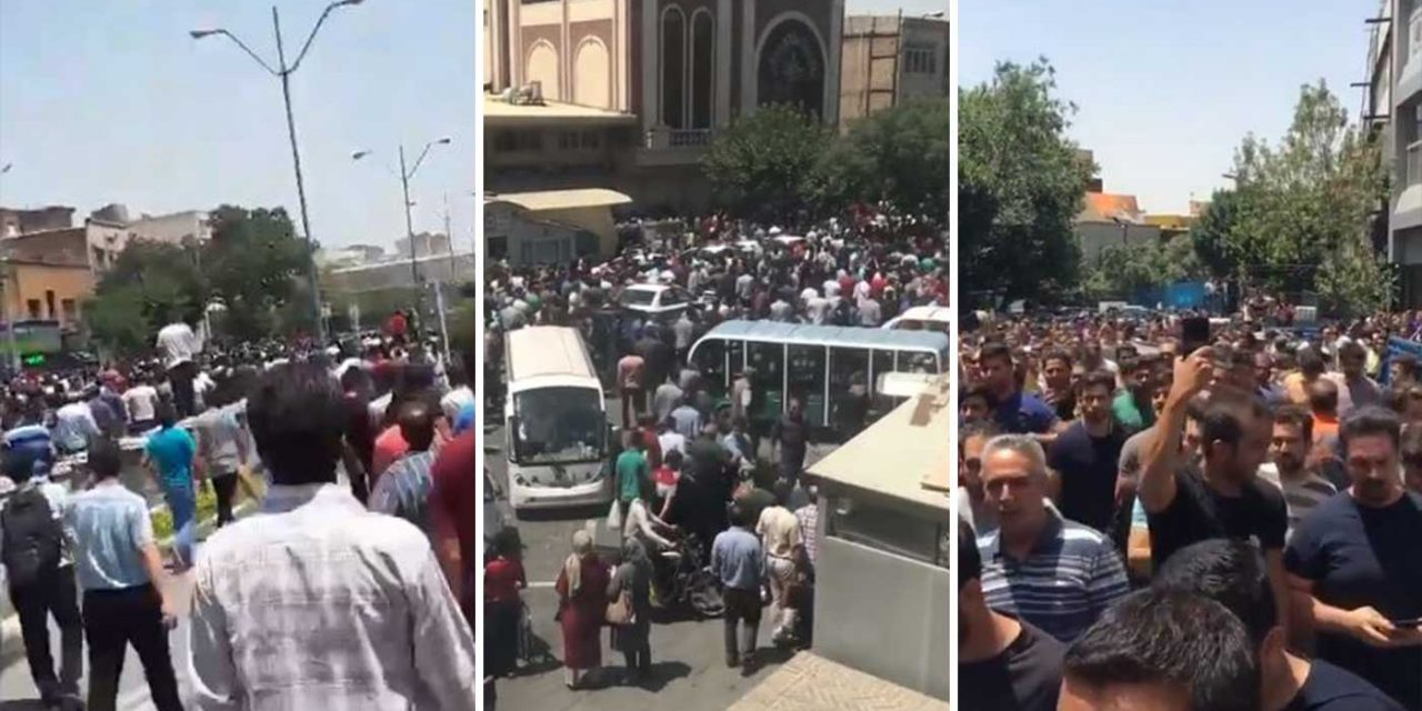 Iran: Millions protest against Khamanei, blame economic hardships on regime's support for terror
