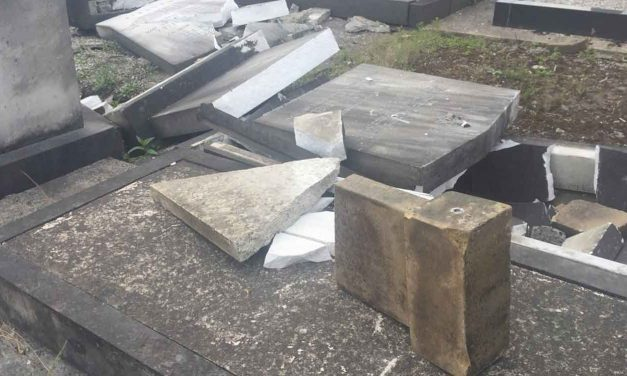 Manchester Jewish cemetery vandalised resulting in thousands-of-pounds in damages
