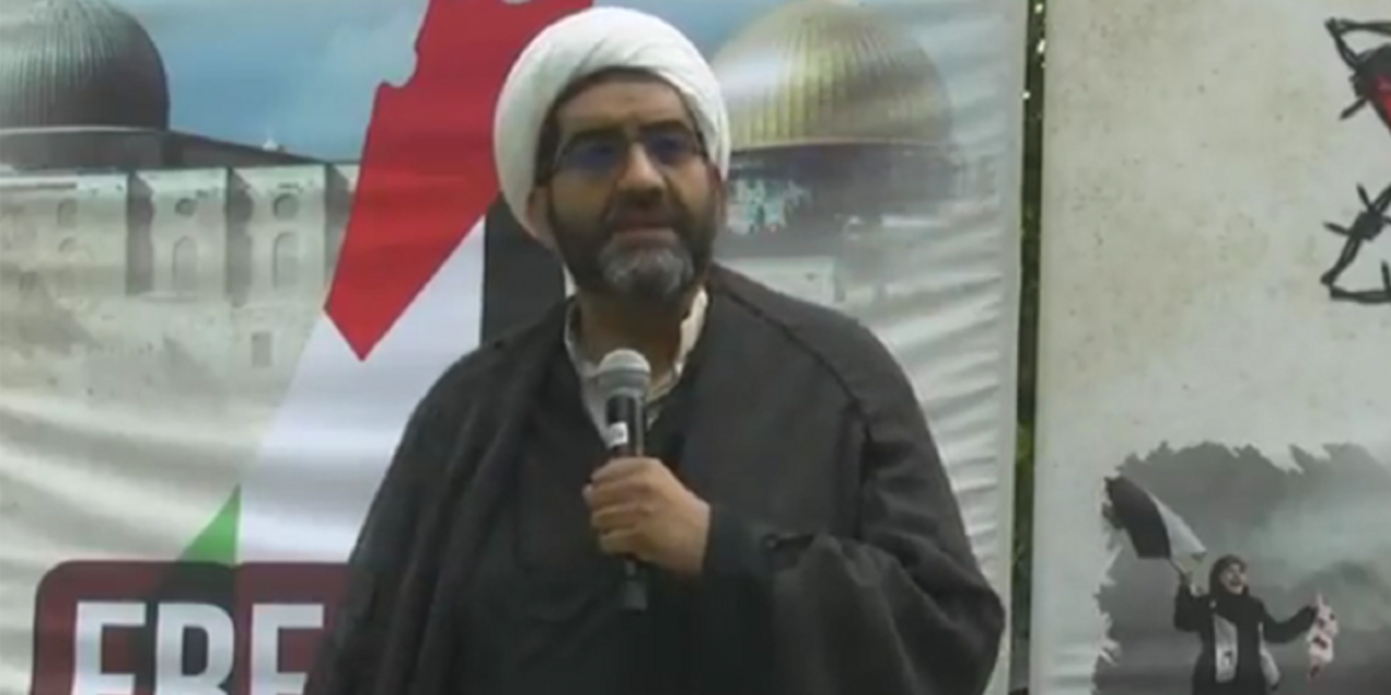 "Canadian Islamic cleric calls for ""eradication"" of ""Israelis and Zionists"" during Toronto's Al Quds rally"