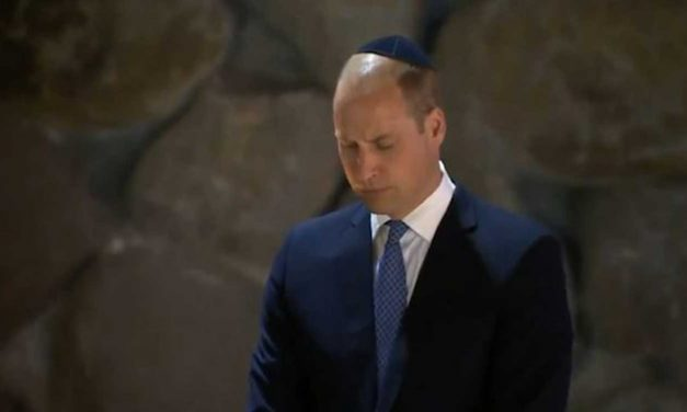 "The important Bible verse inscribed on Prince William's kippah, ""For out of Zion…"""