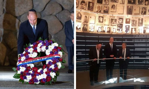 Prince William writes heartfelt message as he honours Holocaust victims at Yad Vashem in Jerusalem
