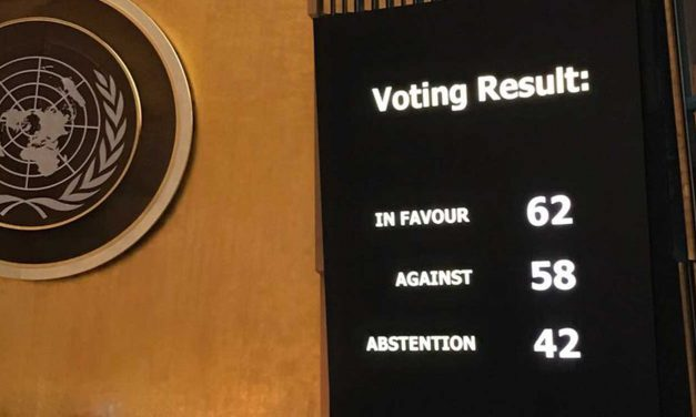 For first time UN majority votes to condemn Hamas but SHAMEFULLY doesn't pass motion