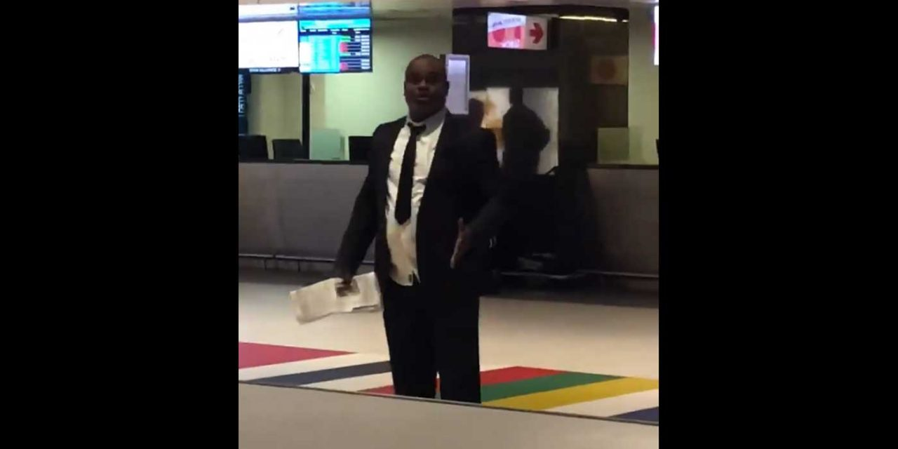 """Watch: Man rants to Israeli passengers """"Jews are wicked"""" at South African airport"""