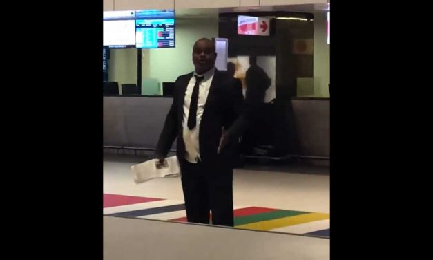 "Watch: Man rants to Israeli passengers ""Jews are wicked"" at South African airport"