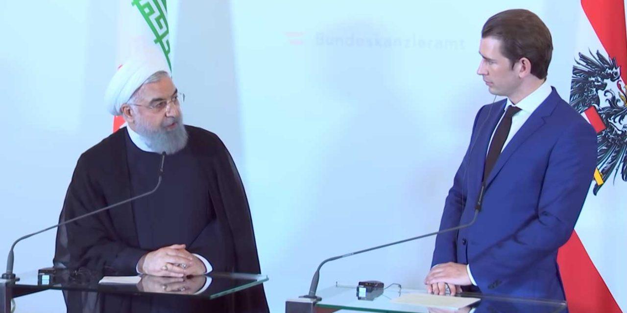 Austrian leader tells Iran's Rouhani: Calling for Israel's destruction is absolutely UNACCEPTABLE