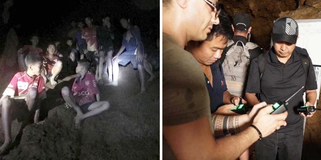 Israeli tech is helping divers in the Thailand cave rescue