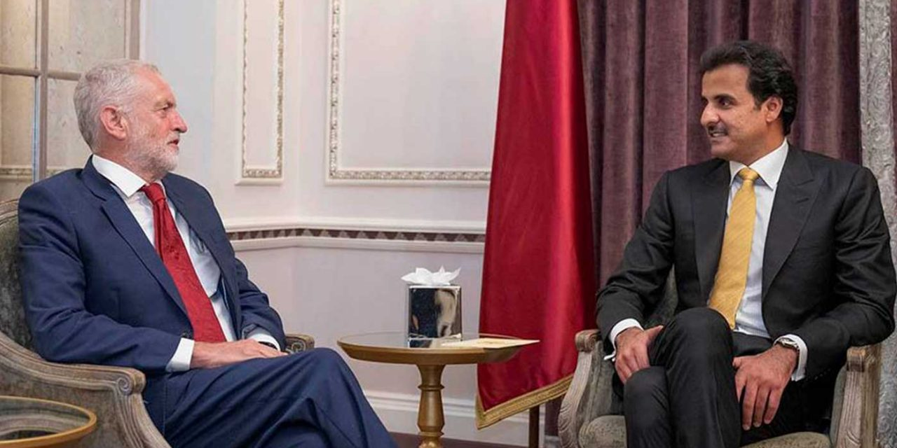 Corbyn skipped anti-Semitism meeting to meet Emir of Qatar – a top donor of Hamas