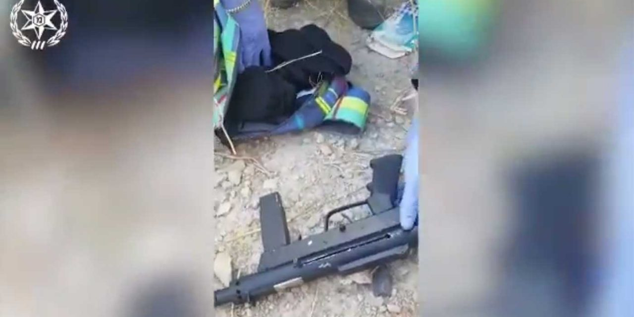 Two Palestinian teens arrested after entering Israel with sub-machine guns