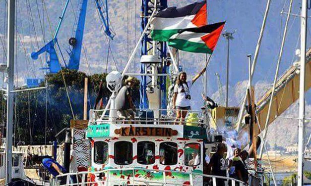 Israel legally intercepts activist boat trying to reach Gaza