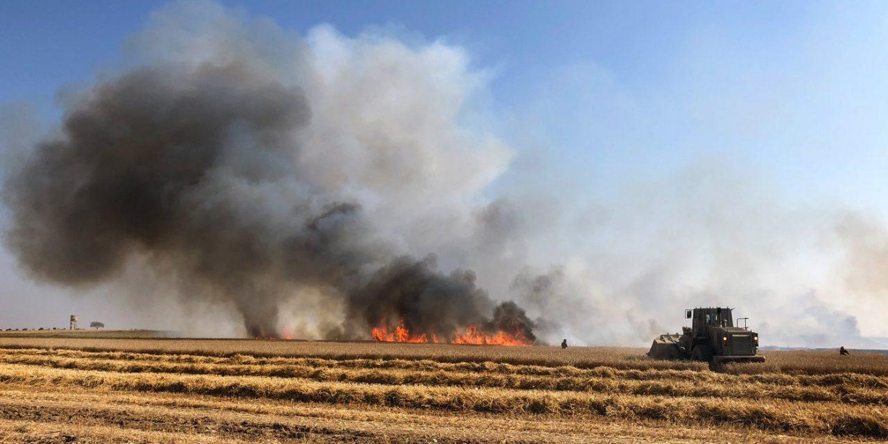 Palestinian terror arson causes Twenty-nine fires at Gaza border in a SINGLE DAY