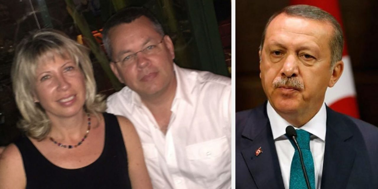 """US evangelist, Zionist mentality is unacceptable"" says Erdogan about American Pastor facing prison sentence"