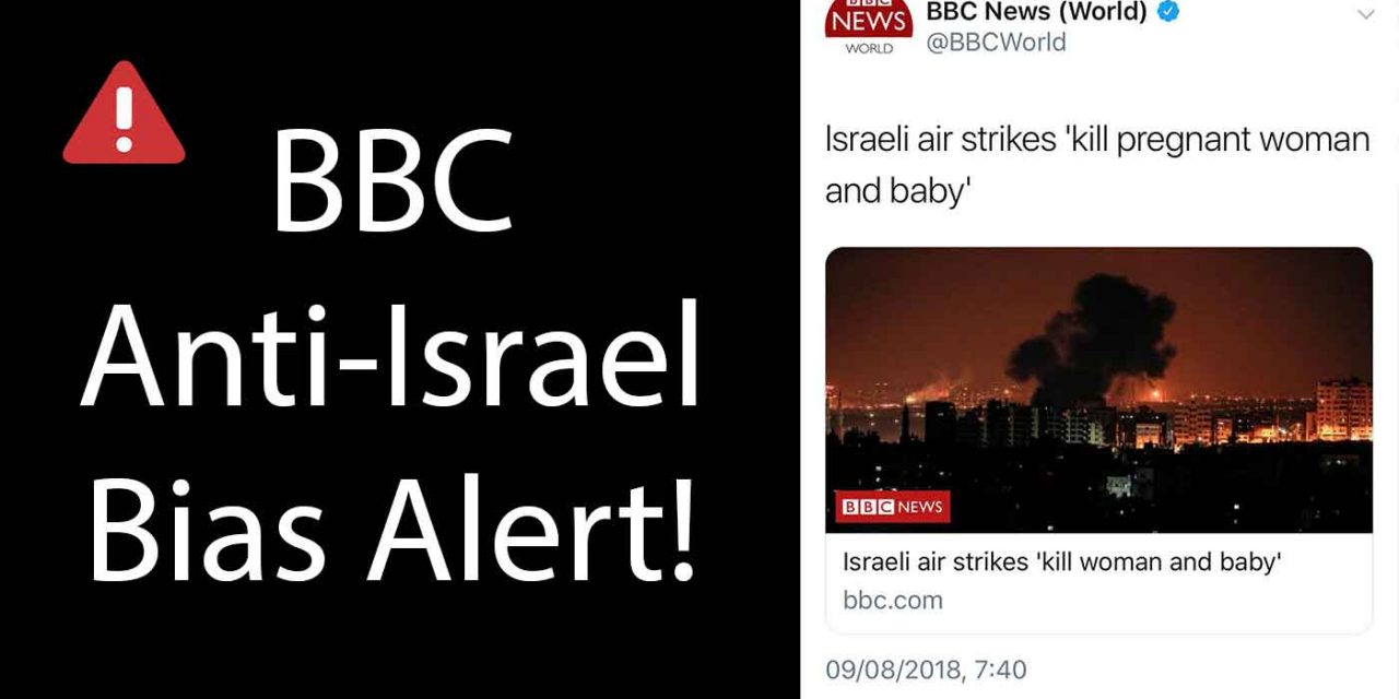 Israel lodges formal complaint over BBC biased headline after rocket attacks