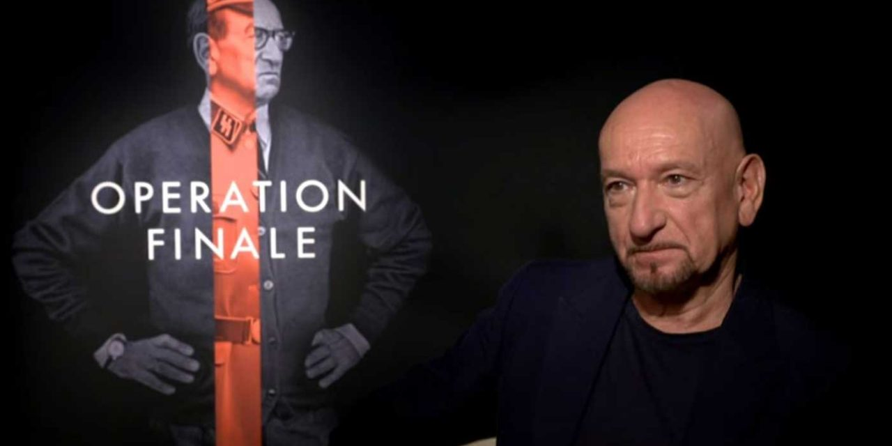 """Ben Kingsley said his portrayal of Adolf Eichmann was to """"nail him to the gates of Auschwitz"""""""