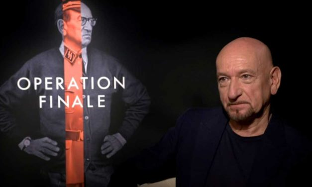 "Ben Kingsley said his portrayal of Adolf Eichmann was to ""nail him to the gates of Auschwitz"""
