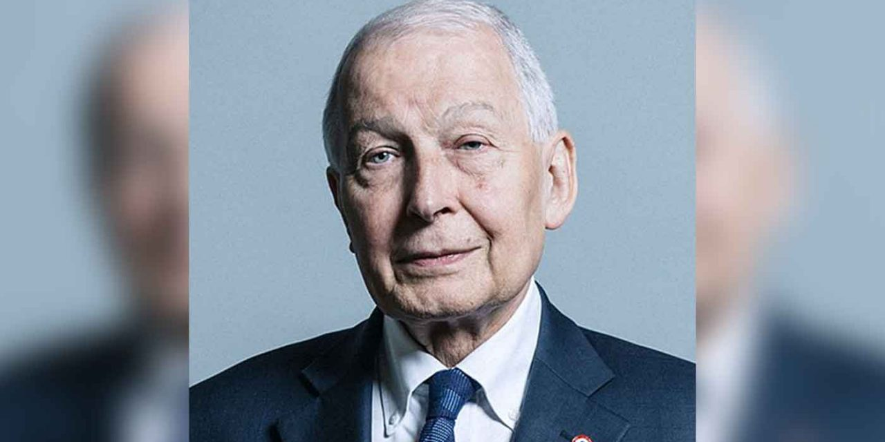"""Labour whip Frank Field resigns saying party leadership """"a force for anti-Semitism in British politics"""""""