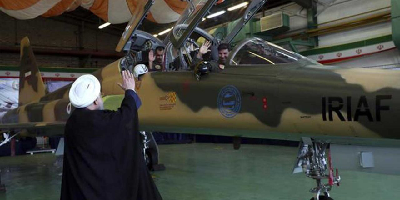 """Iran reveals """"new"""" plane it built, turns out to be 1970's American jet"""