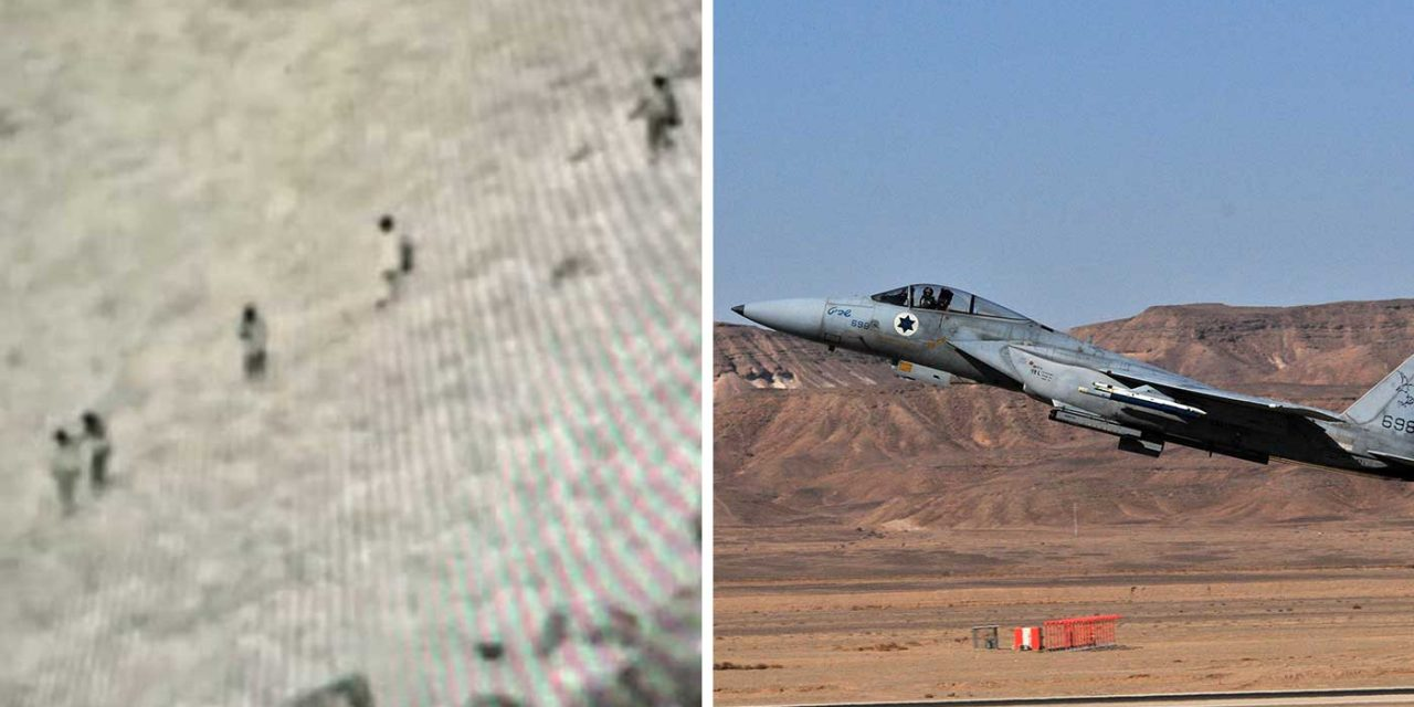 IDF aircraft strikes ISIS terrorists on Israel border, killing 7