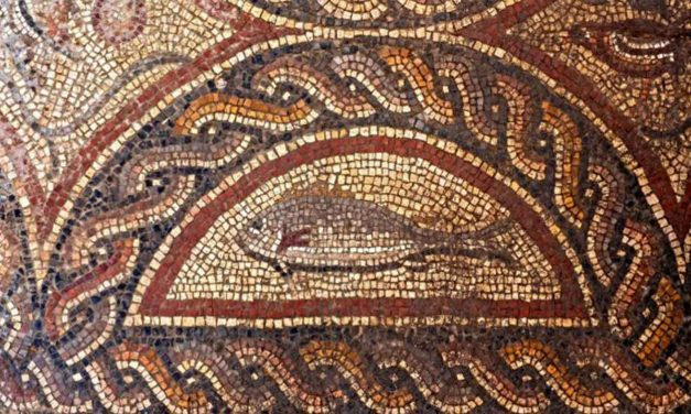 1,700-year-old mosaic discovered in Israel