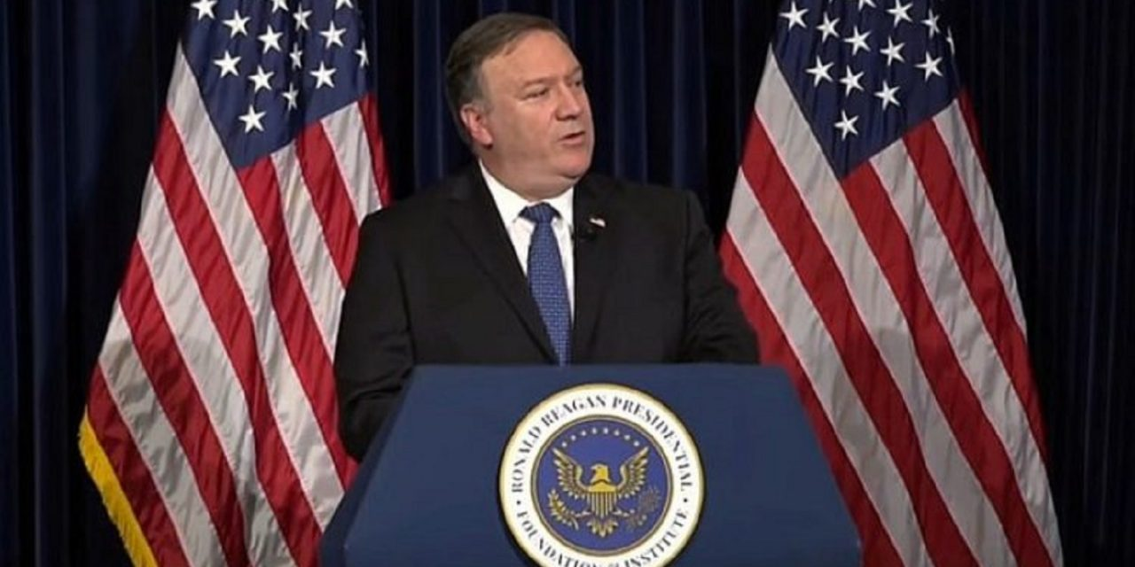 "Pompeo: Strike on Soleimani disrupted ""imminent"" attack and saved hundreds of lives"